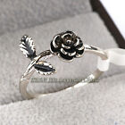 A1-R305 Fashion No Stone Flower Band Ring 18KGP Size 5.5,6,8