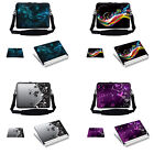 Laptop Notebook Computer Bag with Shoulder Strap & Matching Skin  Mouse Pad
