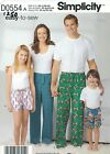 Simplicity 1520 Family Unisex Pants and Shorts   Sewing Pattern