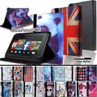 "New FOLIO LEATHER STAND CASE COVER For Amazon Kindle Fire 7"" 8"" 8.9"" 10"" Tablet"