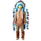 Adult Colorful Indian Feather Headdress