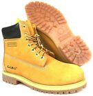 LABO Men 1061 TAN Waterproof Work Safety Leather Boots