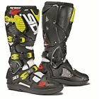 Sidi Crossfire 3 MX/Motocross Boots White/Black/Flo Yellow - New Product!!
