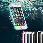Durable Waterproof Hybrid Rubber TPU Phone Case Cover For iPhone 6s 6s Plus