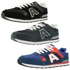 Mens Air Tech Casual Lace Up Trainers - Campus