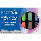 Reeves Watercolor Paint Cakes 12/Pkg-Assorted Colors, Set Of 2