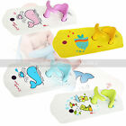Non-Slip Infant Baby Bath Tub Ring Seat Anti Slip Safety Chair Bathing Support