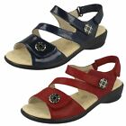 Ladies Padders Strappy Sandals - 'Vienna'