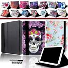 """Universal Folio Leather Case Cover For 7"""" 8.0"""" 9"""" 9.7""""10"""" AndroidTablet PC +Pen"""