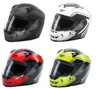 Fly Racing Adult Motorcycle Full Face Revolt Patriot Helmet All Colors XS-2XL