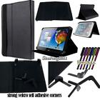 Folio Stand Leather Cover Case For Various Acer Iconia One Tablet PC + STYLUS