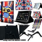 Folio Stand Leather Cover Case For Various ULEFONE Firefly Model Tablet + STYLUS