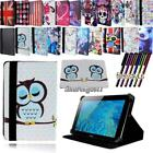 novo 7 tablet - Folio Stand Leather Cover Case For Various AINOL Novo 7 Model Tablet+ STYLUS