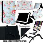 """For Various 7"""" Models Tablet - Universal Folio Stand Leather Cover Case + STYLUS"""