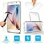 Gel Case & Tempered Glass Screen Protector For Samsung Galaxy A3 (A310F) 2016
