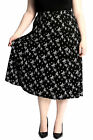 New Ladies Skirt Womens A-Line Maxi Style Plus Size Long Elasticated Nouvelle