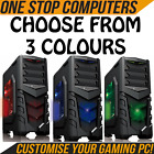 CUSTOMISE YOUR ULTRA FAST GAMING COMPUTER PC CUSTOMISE RAM HDD PROCESSOR WINDOWS