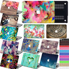 "Laptop Matt New style Paint Hard Case+Key Cover for Macbook Pro 13""15""Air 11""13"""