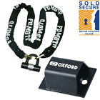Oxford Brute Ground Anchor Optional Motorbike Motorcycle Lock Chain Lock FD-MOTO