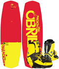 OBRIEN PARADIGM IMPACT 134 2016 inkl. NOMAD Boots ctp yellow Wakeboard Set inkl.