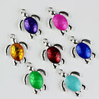Lovely sea turtles! 20Qty Silver plated Alloy Charms Pendant For Jewelry DIY