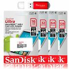 SanDisk Ultra 64GB 32GB 16GB MicroSD Class10 Memory Card Pro Reader GoPro Hero 5