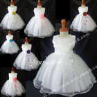 NLW2 Baby Infants Wedding Christening Holy Communion Formal Pageant Gown Dresses