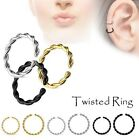 Cartilage Upper Ear Ring - Tragus Top Ear Helix Daith Earring - Nose Septum Hoop