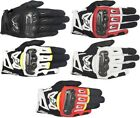 Alpinestars SMX-2 Air Carbon V2 Leather Street Motorcycle Gloves Mens All Sizes