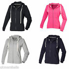 FRONT ROW LADIES ZIP HOODED SWEATSHIRT XS-XXL FR801