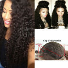 UK Fashion Ladies Synthetic Wigs Long Deep Full Curly Lace Front Womens Hair Wig