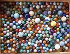 Marbles all different / size 3 1/2 lbs. approx. 270 with 20 shooters Lot 1 OF 3 фото