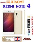 "NEW 5.5"" XIAOMI REDMI NOTE 4 DECA CORE ANDROID 6 DUALSIM 16/32/64GB GOLD UK"
