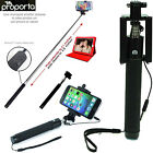 "EXTRA LONG TELESCOPIC SELFIE STICK Proporta ""Shutter on Hand"" 13""-41"" - MOBILES"