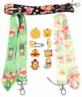 Winnie the Pooh Bear Starter Lanyard Set with 5 Themed Disney Trading Pins ~ NEW