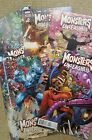 Marvel Comics Monsters Unleashed  1-5 complete series! New,  excellent condition