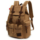 Fashion Men Canvas Backpack Sport Laptop Ruckpack Camping School Satchel Bag