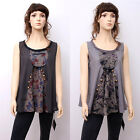 CX124 High Quality Fashion Casual Loose Fitting Gown Dress 100% Cotton M L XL