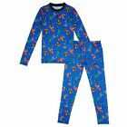 Marvel Comics Climatesmart Boys Long Sleeve Crew Pants Set sizes L XL NEW