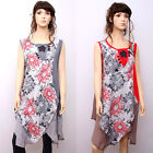 CX184 High Quality Fashion Casual Loose Fitting Gown Dress 100% Cotton M L XL