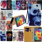 Leather Stand Flip Wallet Cover Phone Case For Various Samsung Galaxy Smartphone
