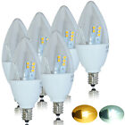 6pack High Power 5W E12 LED Candle Bulb Cool Warm White Light Candelabra Lamp/G4