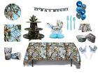 Blue Camo Party in a Box It's a Buck It's a Boy Party Ware - Decorations  fnt