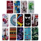 Samsung Galaxy Case Cover Pu Leather Wallet Pattern Design with Stand