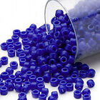 1200 Miyuki Delica #11 Glass Seed Beads 11-0 Lots of Opaque Colors 7.2 Grams