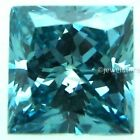 Fiery 1.00 Carat to 3.00 Carat Blue princess cut Loose Moissanite for sale