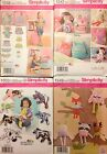 Simplicity 1238, 1342, 1549, 1930  Stuffed Animals  Crafts   You Pick!  NEW!