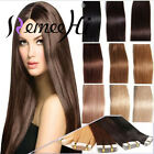New 15''-22''Tape Band Adhesive Hair Extensions 20pcs,60g Remy Hair Straight