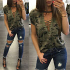 Fashion Women Lady Summer Short Sleeve Loose Blouse Casual Shirt Tops T-Shirt US