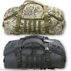 ARMY OPERATORS DUFFLE HOLDALL BAG 60 LITRE RUCKSACK MTP BLACK CADET TRAVEL BAG